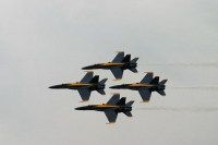 The Blue Angels - Diamond Formation