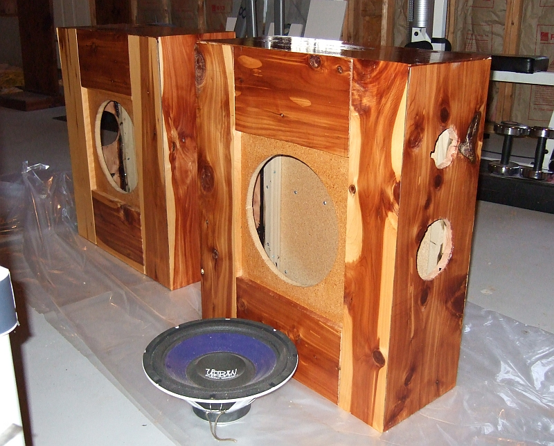 Building some speakers...